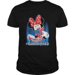Minnie Mouse Face Mask Quarantined  Unisex