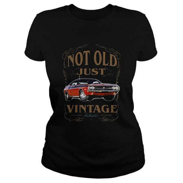 Not old just vintage authentic car  Classic Ladies