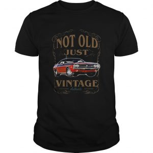 Not old just vintage authentic car  Unisex
