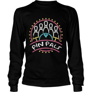 Pin Pals SIMPSONS Bowling Team Distressed  Long Sleeve