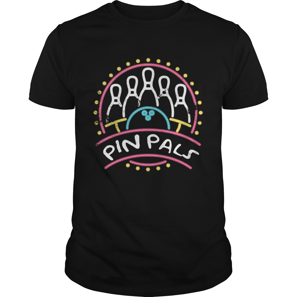 Pin Pals SIMPSONS Bowling Team Distressed  Unisex