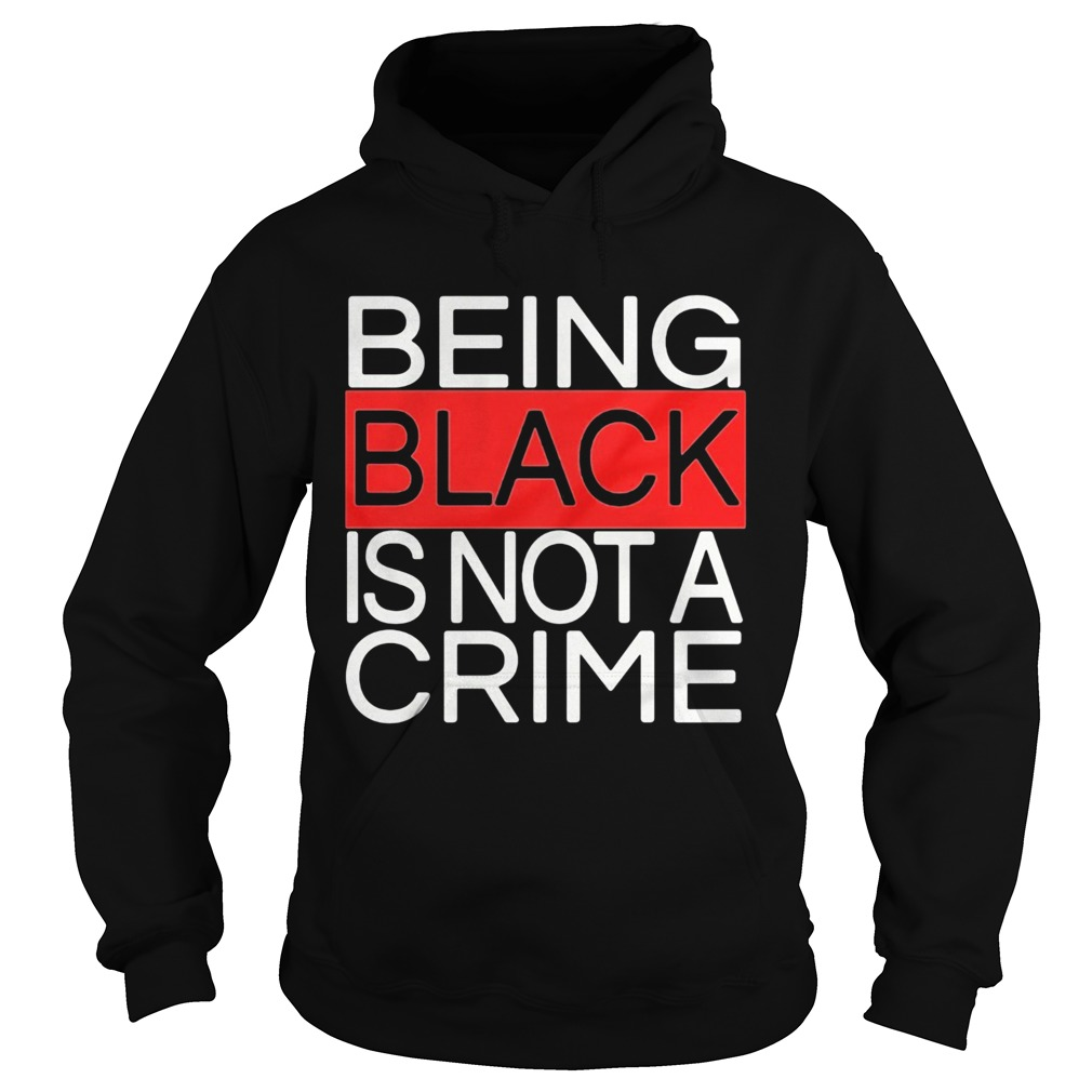 Being black is not a crime royalty  Hoodie