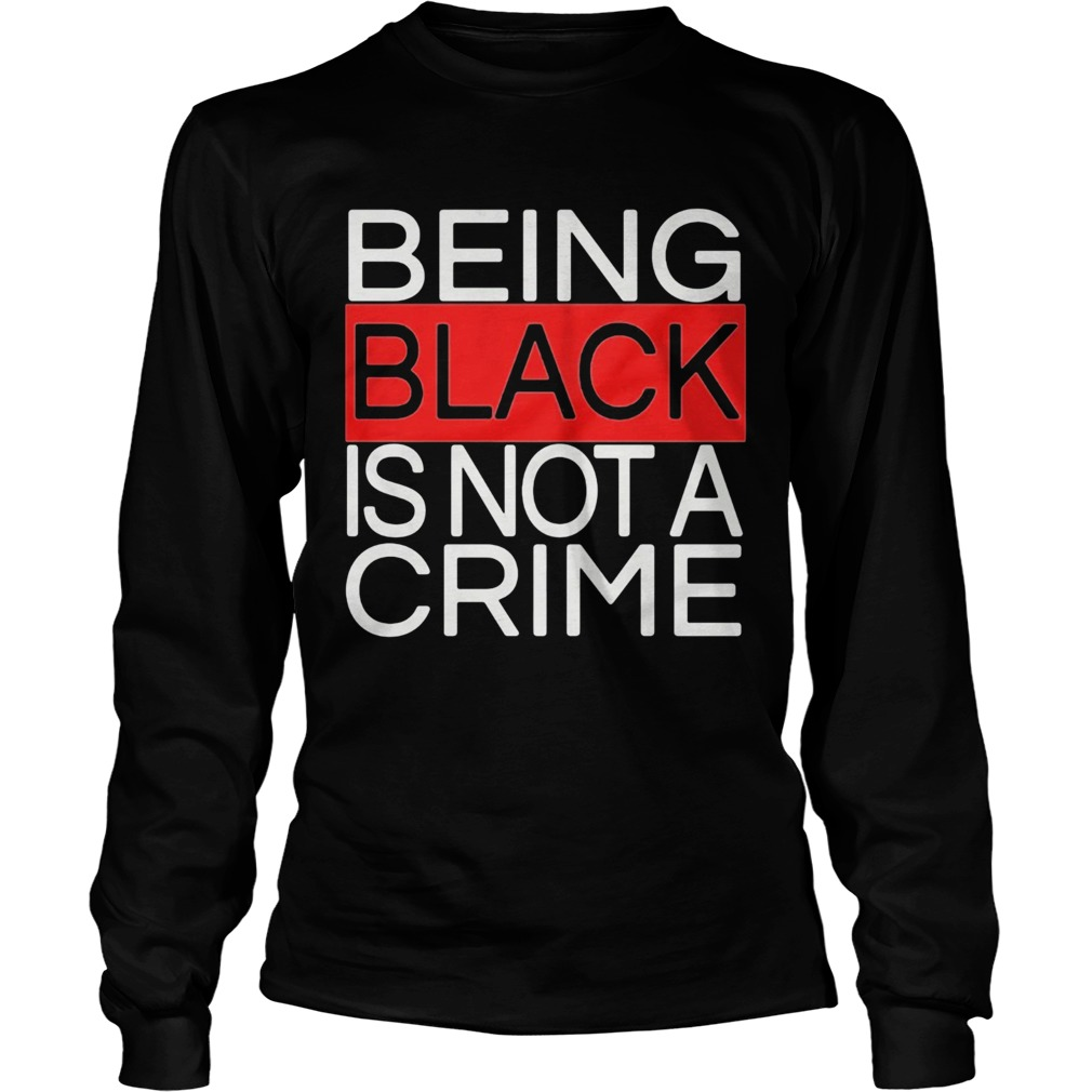 Being black is not a crime royalty  Long Sleeve