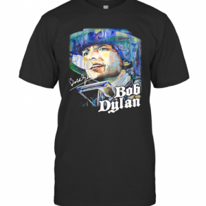 Bob Dylan Signature Art T-Shirt Classic Men's T-shirt