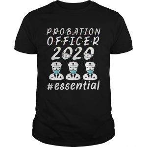 Probation officer 2020 mask essential  Unisex