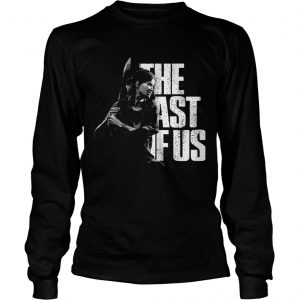 The last of us the woman holds the knife  Long Sleeve