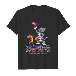Tom And Jerry America 4th July Independence Day  Classic Men's T-shirt