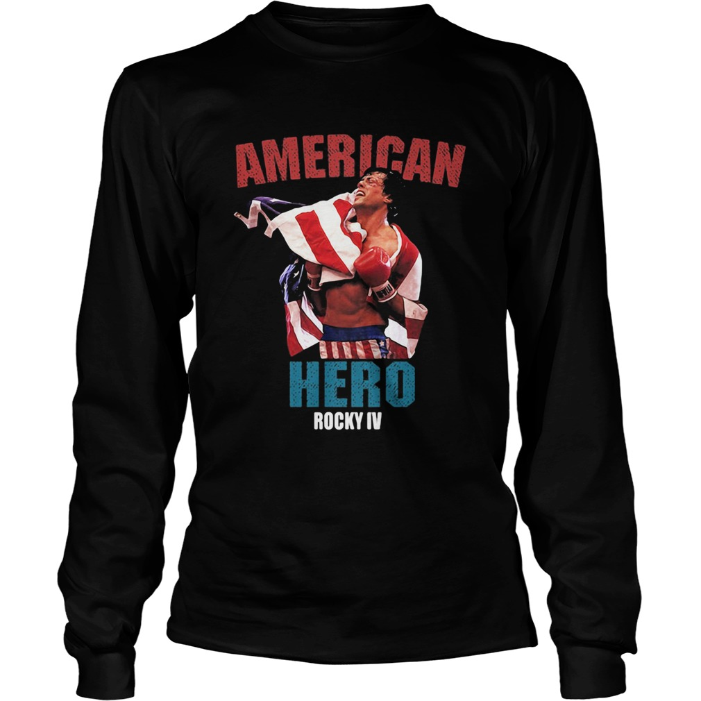 American hero rocky iv  Long Sleeve