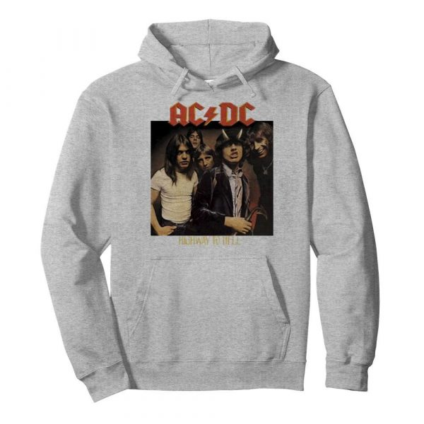Acdc band members highway to hell  Unisex Hoodie