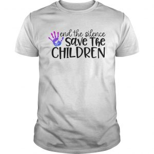 End The Silence Save The Children  Unisex