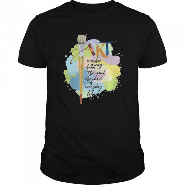 Art Washer Away From The Soul The Dust Of Everyday Life  Classic Men's T-shirt
