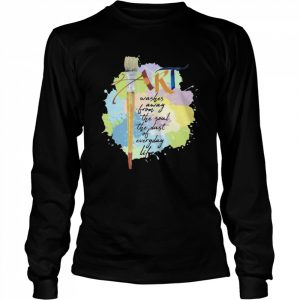 Art Washer Away From The Soul The Dust Of Everyday Life  Long Sleeved T-shirt