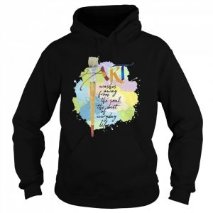 Art Washer Away From The Soul The Dust Of Everyday Life  Unisex Hoodie