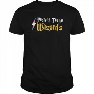 Harry Potter Protect Trans Wizards  Classic Men's T-shirt