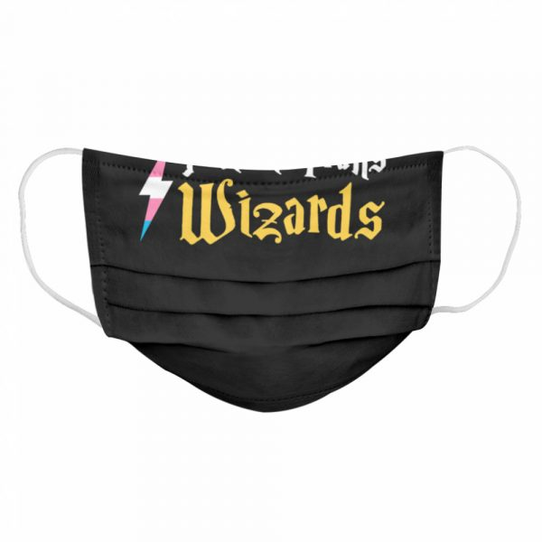 Harry Potter Protect Trans Wizards  Cloth Face Mask