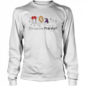Cute Heauxcus Peauxcus Cajun French  Long Sleeved T-shirt