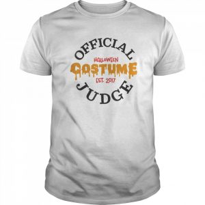 Halloween Judge  Classic Men's T-shirt