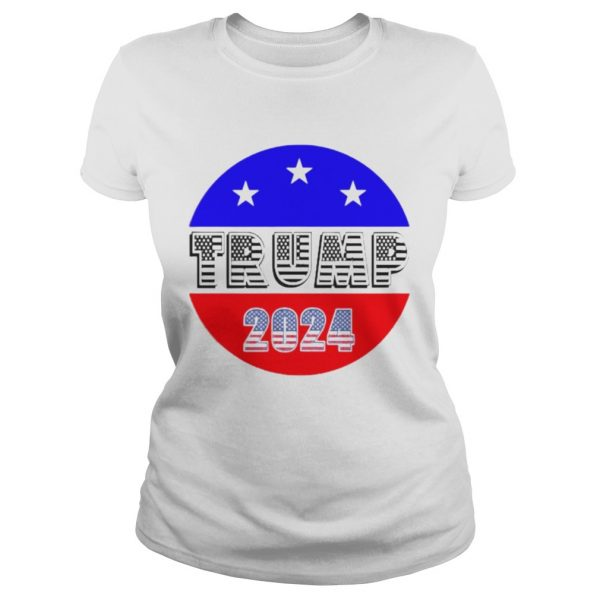 President Trump 2024 Election American Flag  Classic Ladies