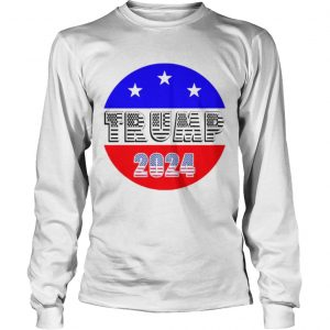 President Trump 2024 Election American Flag  Long Sleeve