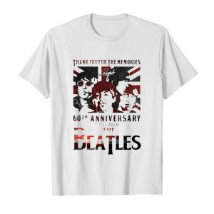 Thank you for the memories 60th Anniversary 1960 2020 The Beatles  Classic Men's T-shirt