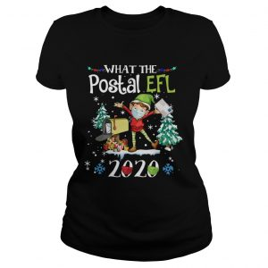 What The Postal Worker Christmas Elf 2020  Classic Ladies