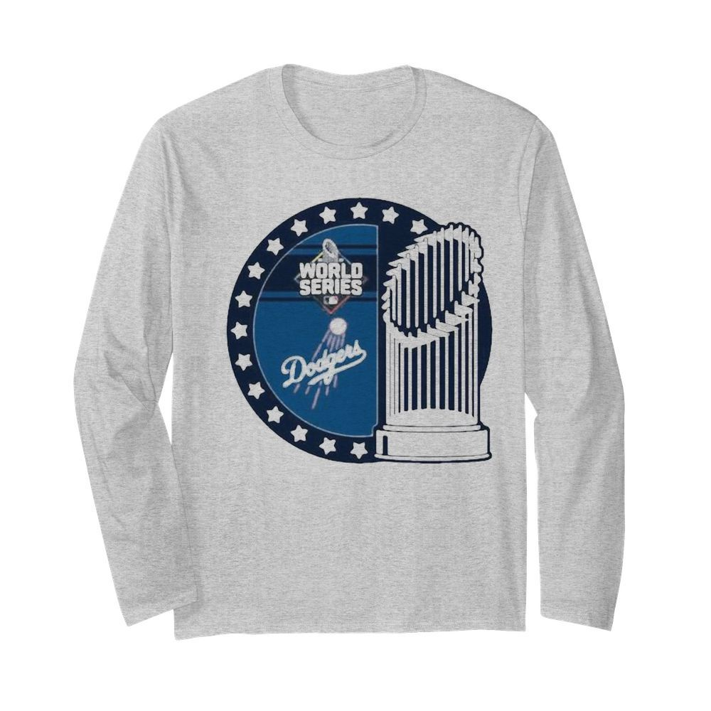 World series los angeles dodgers champions  Long Sleeved T-shirt