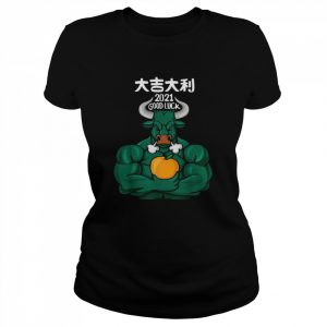 2021 Good Luck The Ox 2021 Happy Chinese New Year 2021  Classic Women's T-shirt