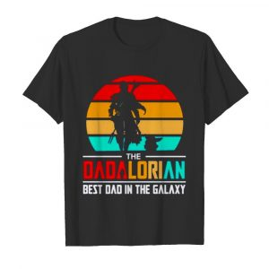 The Dadalorian best dad in the galaxy vintage  Classic Men's T-shirt
