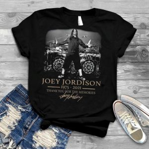 Joey jordison 1975 2021 thank you for the memories shirt